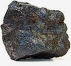 a piece of raw magnetite